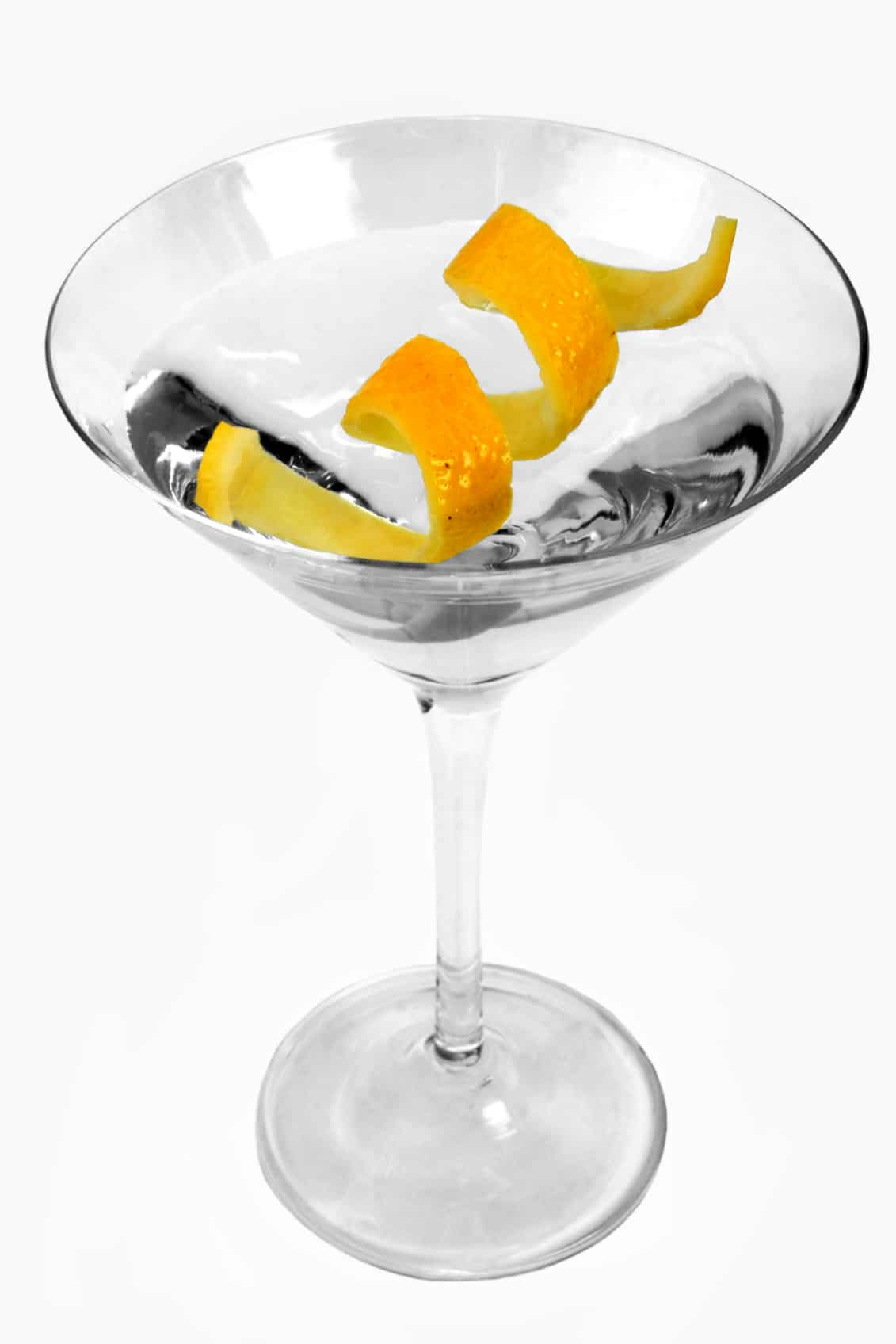Martini with Garnish