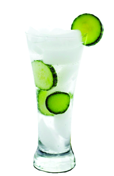 Cucumber cocktail picture