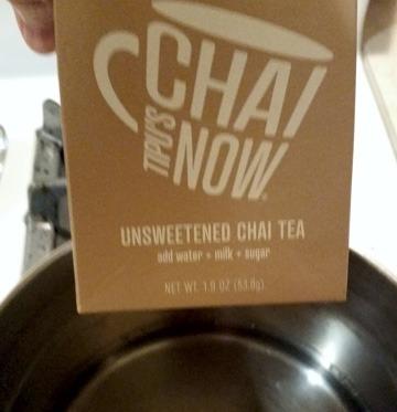 Chai Syrup Step 1