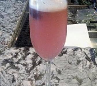 Blueberry Sage Fizz