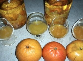Homemade Tangerinecello